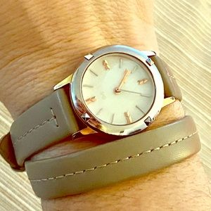 Stella & Dot Convertible Watch with 2 straps